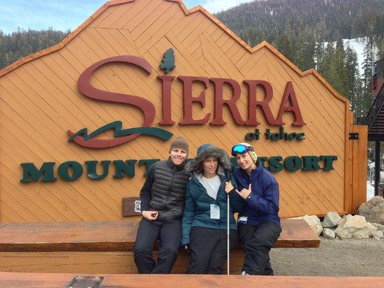 Sierra at Tahoe: Post-baording