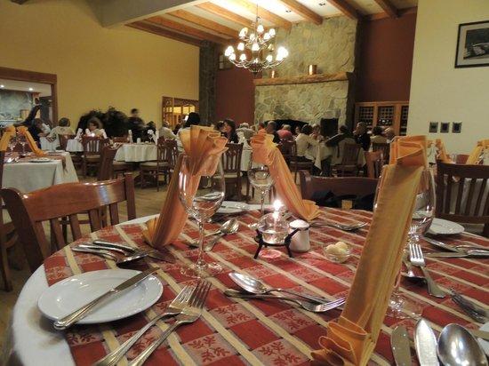 Hotel Natura Patagonia: Requinte e ótima gastronomia.