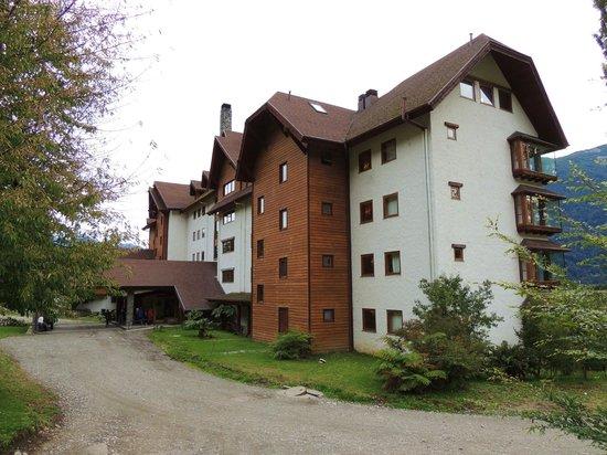 Hotel Natura Patagonia: Entrada principal.