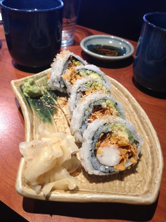 Kaide Sushi: Corn flakes in sushi? Totally works!