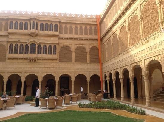 Suryagarh : central courtyard