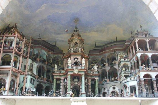 Château d'Hellbrunn : Miniature workstation