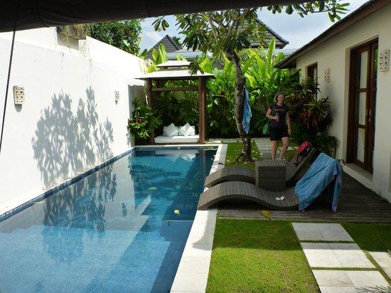 Arama Riverside Villas : From lounge looking back