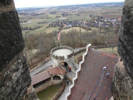 Altenburg: вид с башни