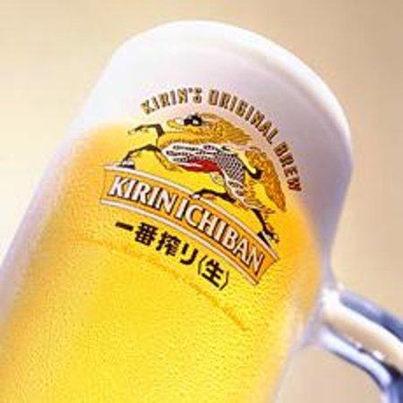 Tokyo Steakhouse & Sushi Bar: beer