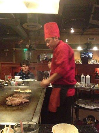 Tokyo Steakhouse & Sushi Bar: chef