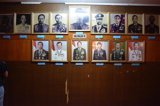 Satria Mandala Museum (Armed Forces Museum): generals