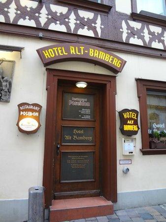 Hotel Alt Bamberg: вход