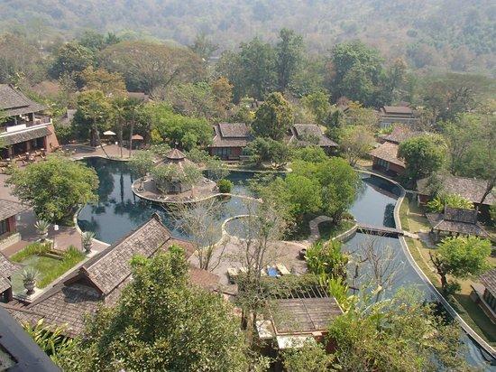 Sibsan Resort & Spa Maetaeng : view from resorts tower