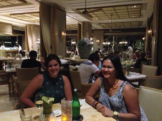 Mulia Villas: dinner at soleil