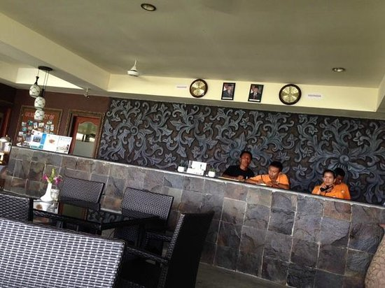 Bintan Spa Villa Beach Resort: フロント