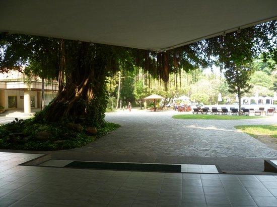 Imperial Pattaya Hotel : выход к бассейнам