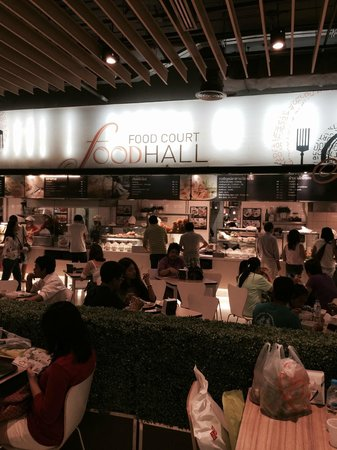 The Mall Bangkapi: フードコート