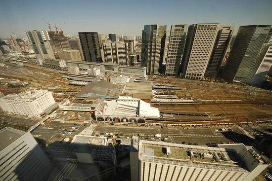 Shinagawa Prince Hotel Tokyo: view to Shinagawa station, 33 floor