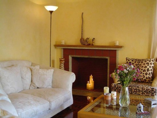 Carter's Lodge: Relax, read a book, watch TV in the comfy lounge