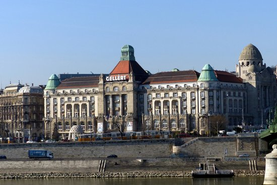 Danubius Hotel Gellert: Hotel Gellert