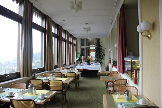 Edelweiss Engelberg: Breakfast seating