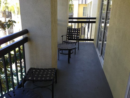 HYATT house Cypress/Anaheim: Balcony