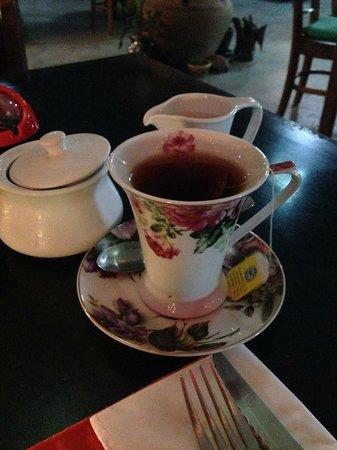 TJ's Italian Restaurant: My small tea