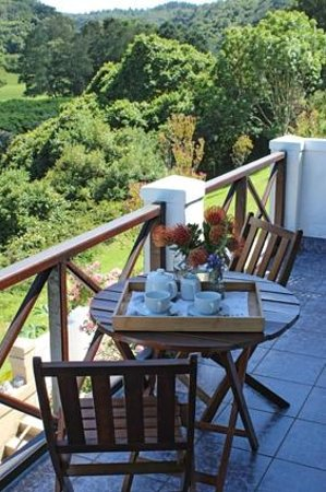 Blackwaters River Lodge: Private deck overlooking river