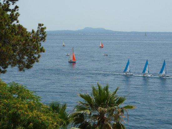 Europe Playa Marina : Также вид из нашего номера