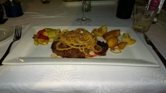 Restaurante La Martina Grill: Main meal