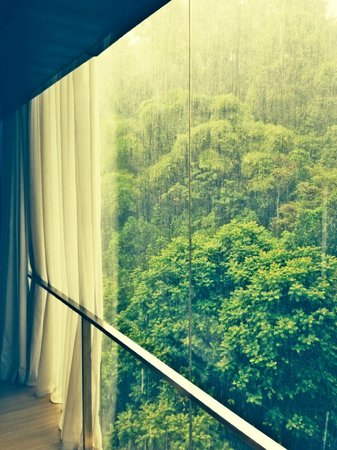 Padma Hotel Bandung : Suite room window view