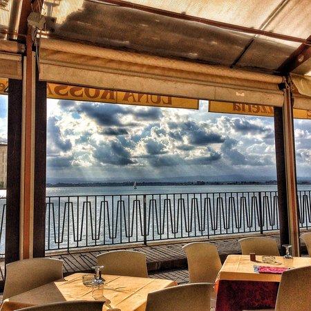 Luna Rossa: Вид из ресторана