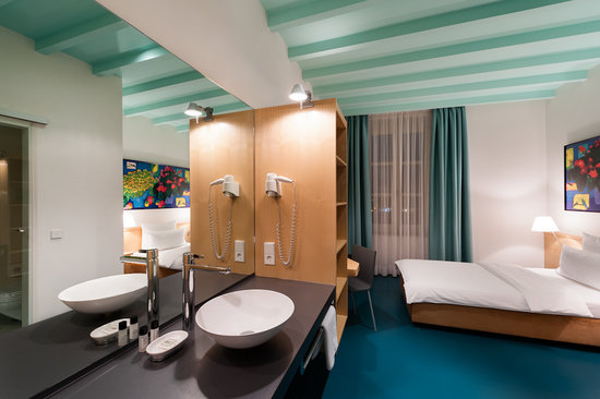 Design Hotel Stadt Rosenheim: Economy Zimmer