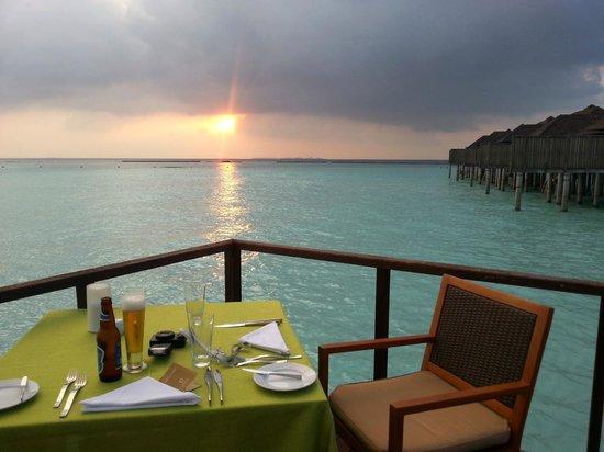 The Sun Siyam Iru Fushi Maldives: @The Trio