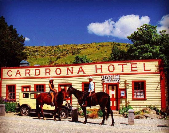 The Cardrona: Mid ride pub stopover