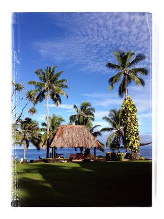 Paradise Taveuni: View from the room