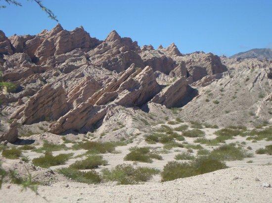 Quebrada de Las Flechas - Angastaco : las flechas2
