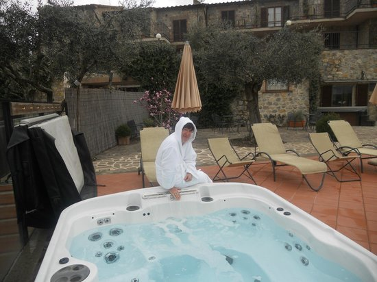 Hotel Resort Antico Casale di Scansano : vasca jacuzzi