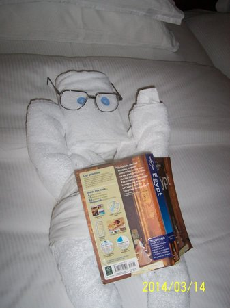 Hilton Luxor Resort & Spa : Another towel sculpture