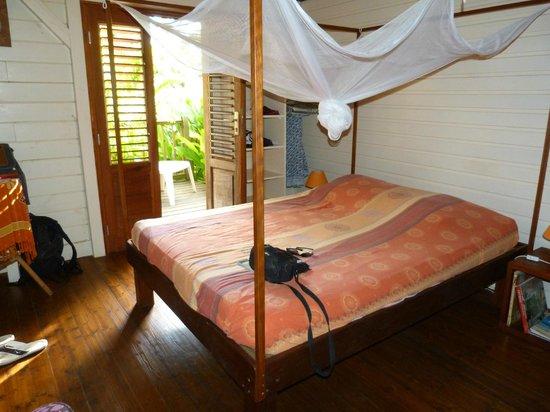 La Koumbala: La chambre