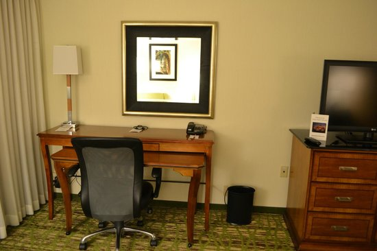 Tampa Airport Marriott: desk area