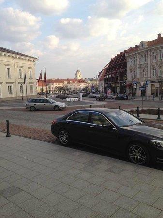 Radisson Blu Royal Astorija Hotel, Vilnius : Utsikt i fra hotellet.