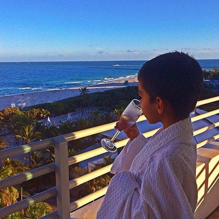Hilton Bentley Miami/South Beach: Relaxing!!