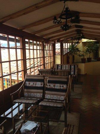 Amaru Colonial : Веранда