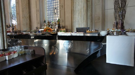 Palazzo Montemartini: Frühstücksbüfett