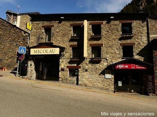 Hostel Micolau: Fachada del hotel