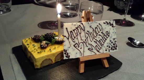 Birthday cake Rasoi by Vineet