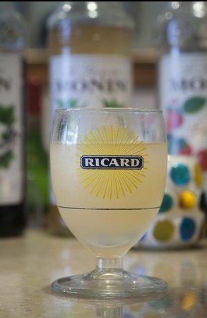 Cafe Gitane jkt: Ricard their Signature Drink