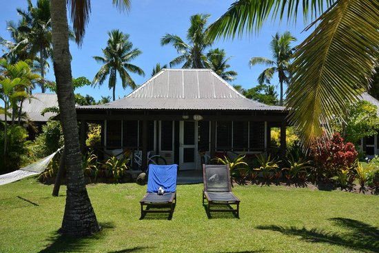Musket Cove Island Resort : Beach bungalow #15