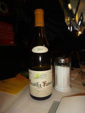 Orphée Restaurant : Burgunder