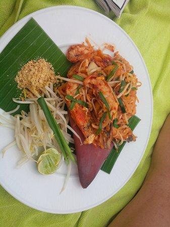 Pullman Phuket Panwa Beach Resort: Phad Thai au restaurant Edge