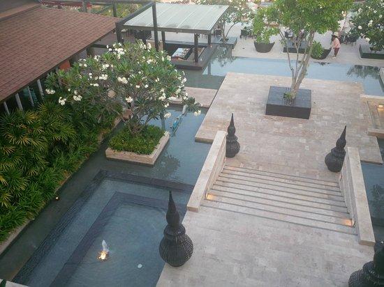 Pullman Phuket Panwa Beach Resort: Vue sur le restaurant Azur