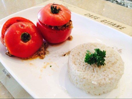 Cafe Gitane jkt: Tomate Farcie