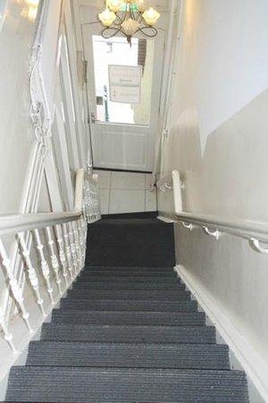 Hotel 83 Amsterdam: le ripide scale dell'hotel 83